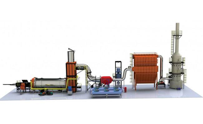 Waste treatment, solid waste